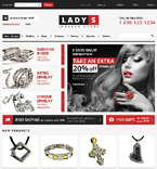 Jewelry VirtueMart  Template 47314