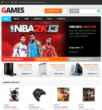 Games WooCommerce Template 47315
