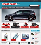 Cars PrestaShop Template 47318