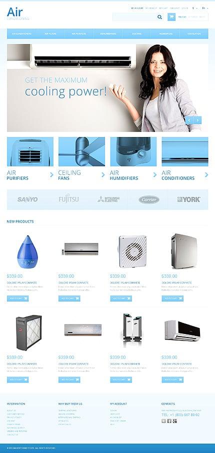 Magento Theme/Template 47323 Main Page Screenshot