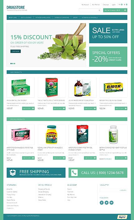 Magento Theme/Template 47325 Main Page Screenshot