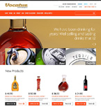 Food & Drink Magento Template 47326