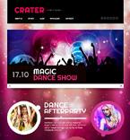 Night Club Website  Template 47330
