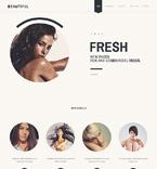 Beauty Website  Template 47335