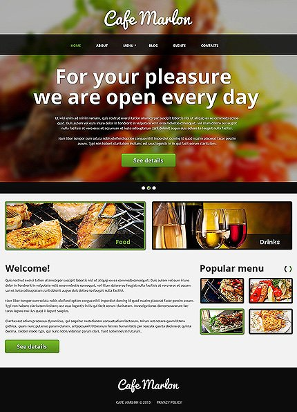 Joomla Theme/Template 47343 Main Page Screenshot