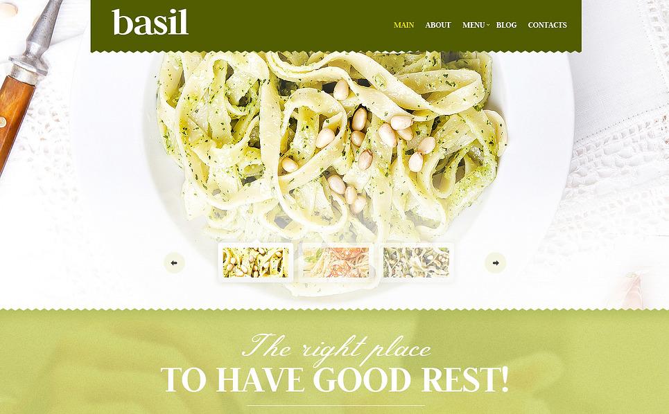 Responsywny szablon Joomla #47345 na temat: restauracja włoska New Screenshots BIG