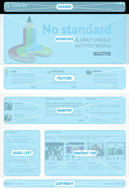 Joomla Theme/Template 47346 Main Page Screenshot