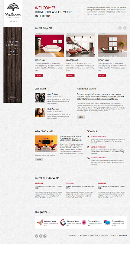 Joomla Theme/Template 47347 Main Page Screenshot