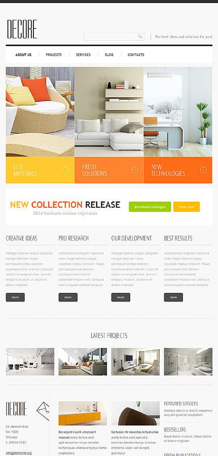Joomla Theme/Template 47348 Main Page Screenshot
