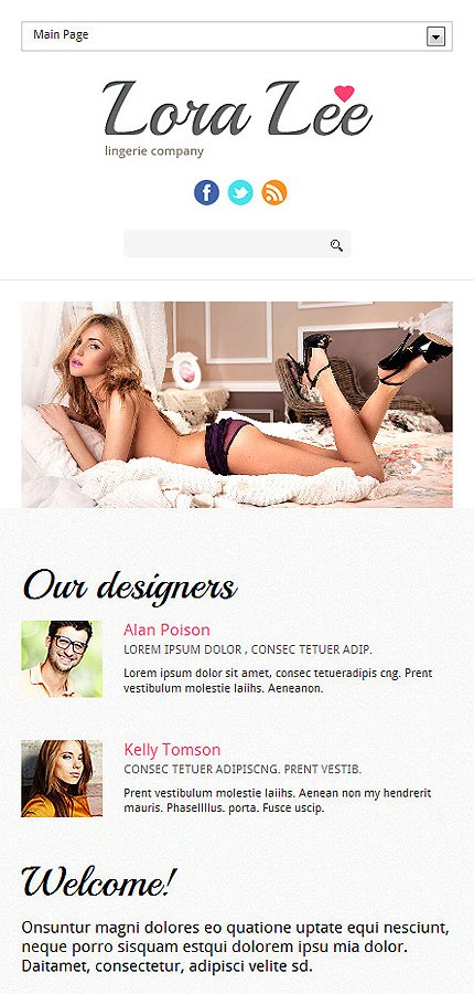 Joomla Theme/Template 47357 Main Page Screenshot