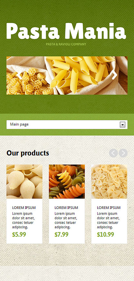 Joomla Theme/Template 47359 Main Page Screenshot