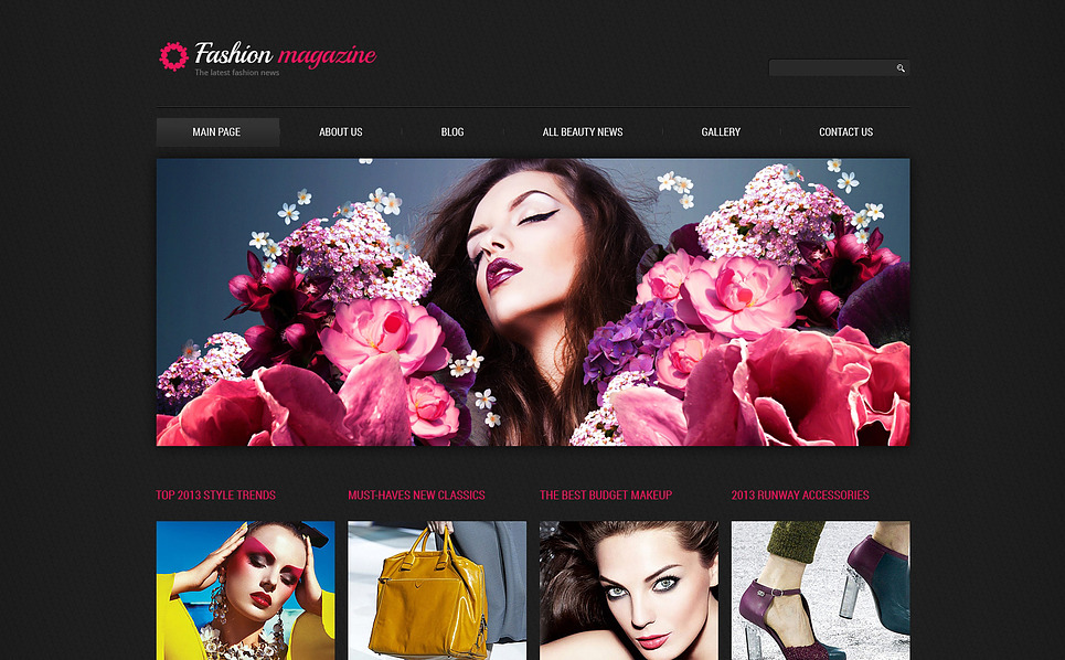 Responsive Joomla Template over Fashion Blog  New Screenshots BIG