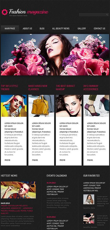 Joomla Theme/Template 47360 Main Page Screenshot