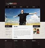 Religious Moto CMS HTML  Template 47372