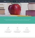 Education Moto CMS HTML  Template 47376