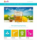 Food & Drink Moto CMS HTML  Template 47378