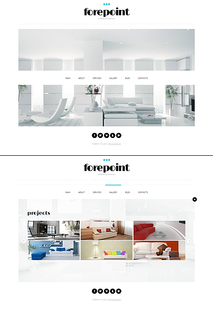 ADOBE Photoshop Template 47387 Home Page Screenshot