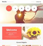 Wedding Website  Template 47390