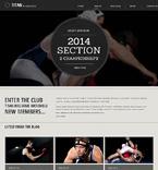 Sport Website  Template 47391