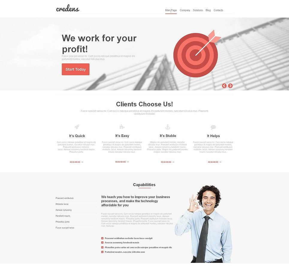 Financial Advisor Moto CMS HTML Template New Screenshots BIG