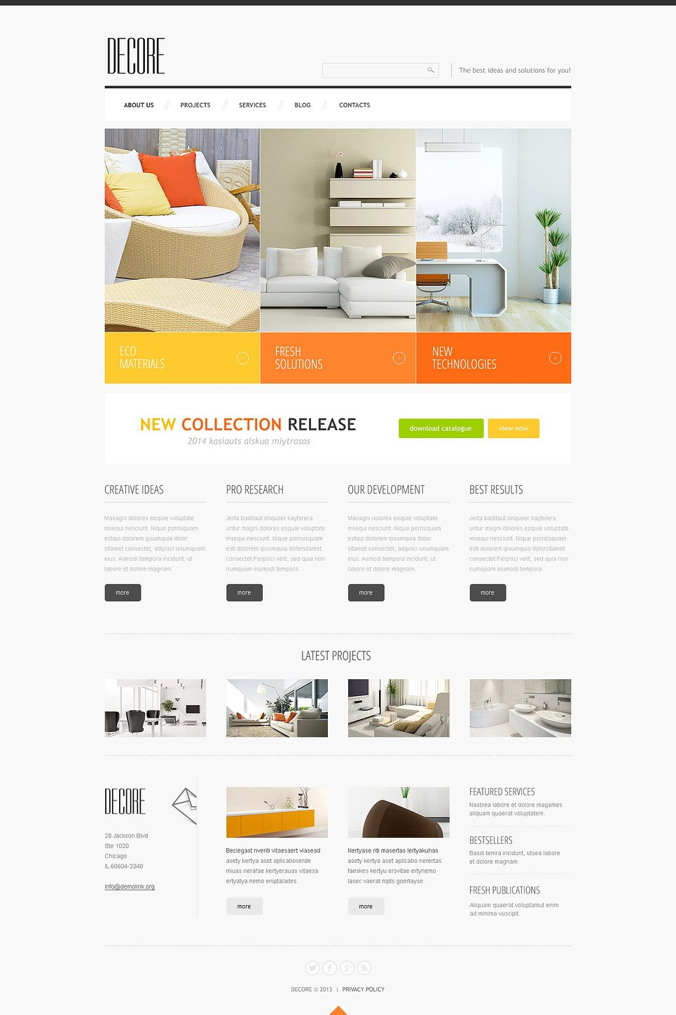 Home Decor Responsive Joomla Template New Screenshots BIG
