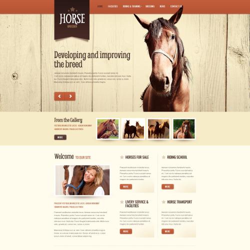 Horse  - HTML5 Drupal Template