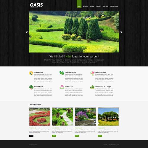 Oasis - Responsive Joomla! Template