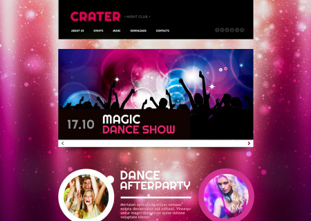 Night Club Responsive