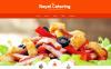 Responsive Website template over Catering  New Screenshots BIG