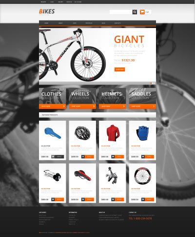 Thème WooCommerce adaptatif  pour site de BMX