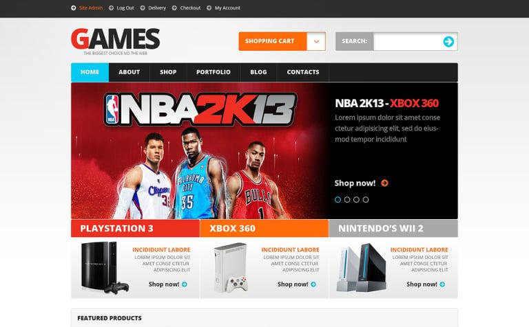 Video Games WooCommerce Theme