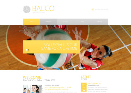 Volleyball Responsive
