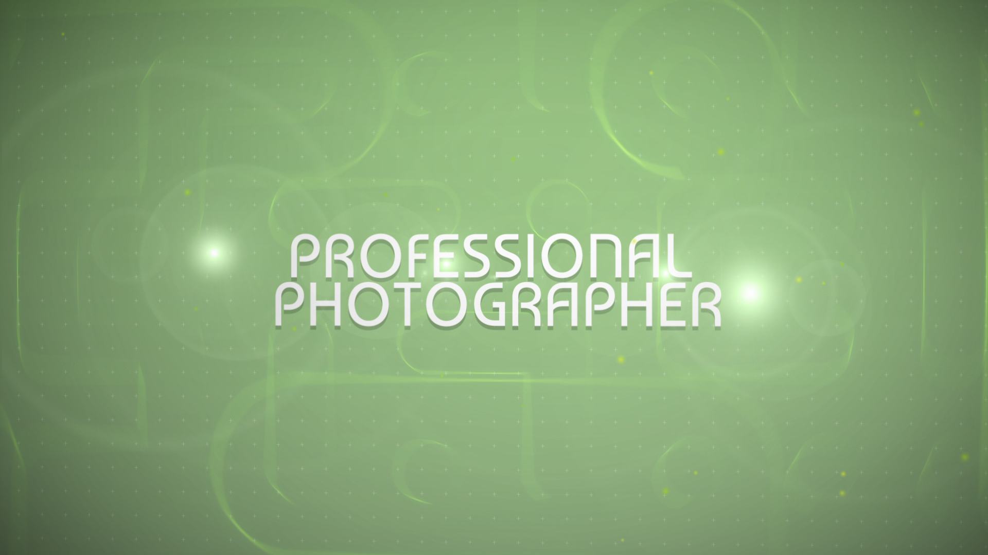 Заставка After Effects на тему портфоліо фотографа  №47309