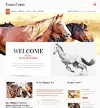 Animals & Pets WordPress Template 47403