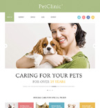 Animals & Pets WordPress Template 47407