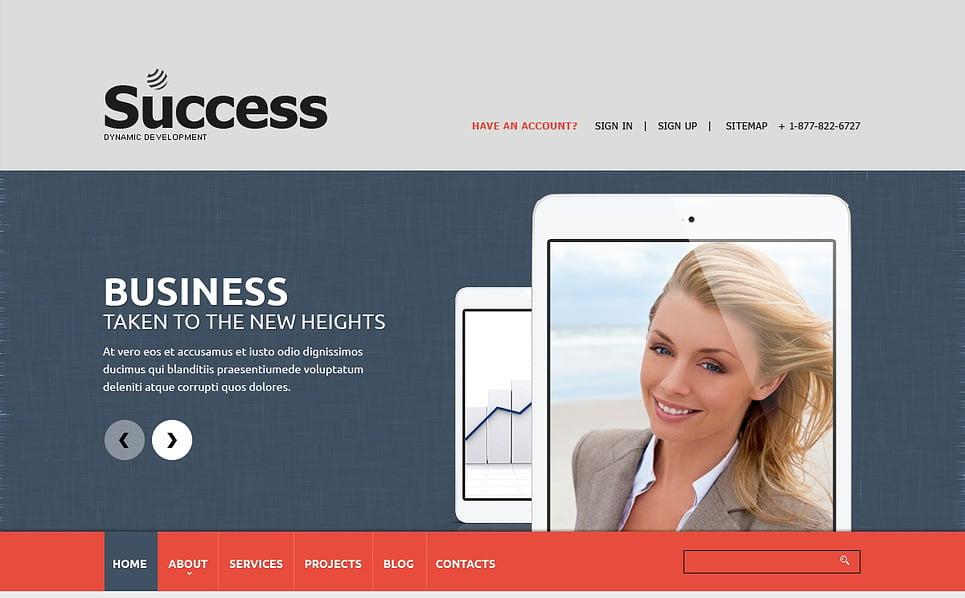 Адаптивний Шаблон сайту на тему маркетинг New Screenshots BIG