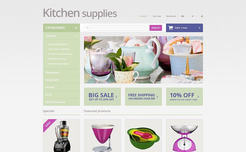 Responzivní PrestaShop motiv na téma Domácí potřeby New Screenshots BIG