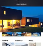 Architecture Website  Template 47426