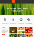 Agriculture Website  Template 47427
