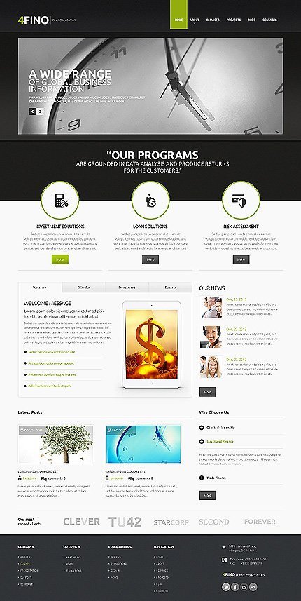 Drupal Template 47429 Main Page Screenshot