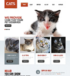 Animals & Pets Drupal  Template 47430