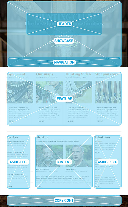 Joomla Theme/Template 47436 Main Page Screenshot