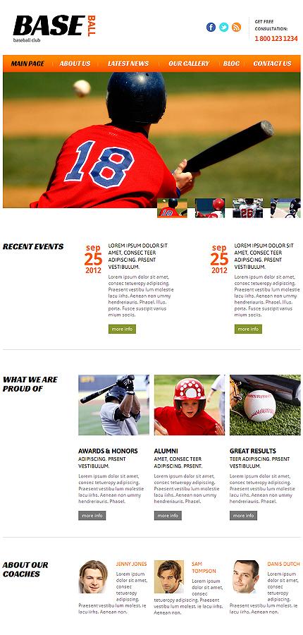 Joomla Theme/Template 47438 Main Page Screenshot