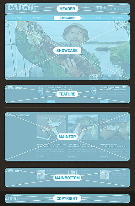 Joomla Theme/Template 47439 Main Page Screenshot