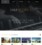 Personal Page Website  Template 47443