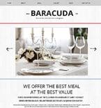 Cafe & Restaurant Website  Template 47444