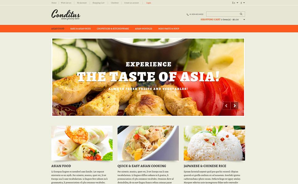Responsive OpenCart Template over Aziatisch Restaurant New Screenshots BIG