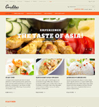 Cafe & Restaurant OpenCart  Template 47450