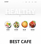 Food & Drink Moto CMS HTML  Template 47461