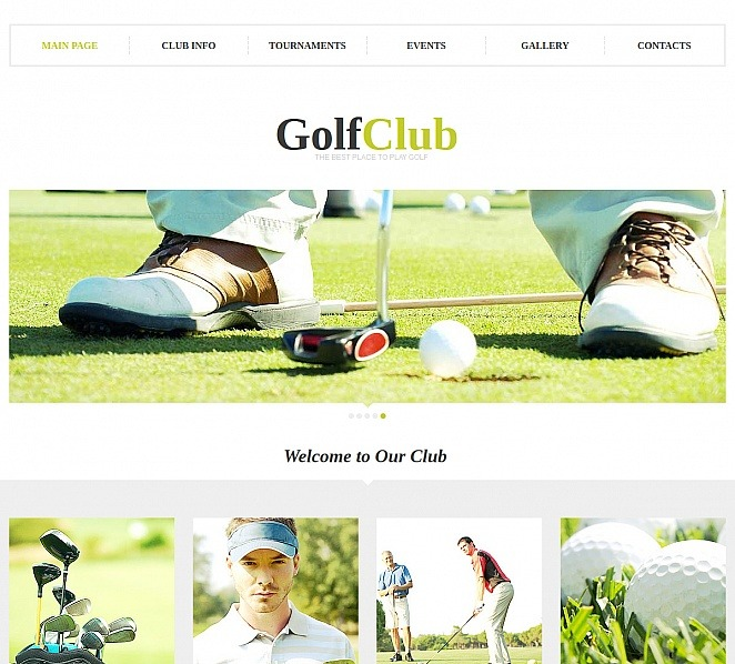 Premium Golf  Moto Cms Html Şablon New Screenshots BIG